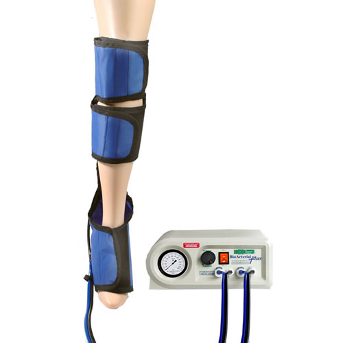 Bio Arterial plus compression system for legs
